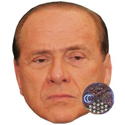 Facce Di Persone Famose.Silvio Berlusconi Maschere Di Persone Famose Facce Di