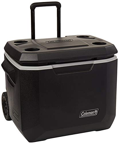 Coleman Xtreme Series Wheeled Cooler, 50 Quart (Renewed)
