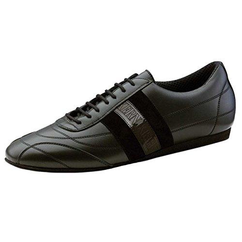 Werner Kern–Hombre Zapatos de baile 28033–Piel Negro