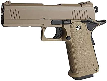 GOLDEN EAGLE Pistola Gas HI-Capa 4.3