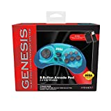 Retro-Bit Sega Genesis 2.4 GHz Wireless Controller