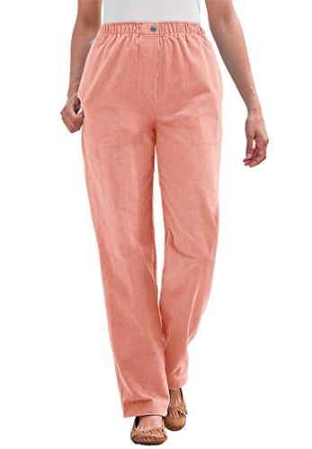 Plus Size Corduroy Pants - 8