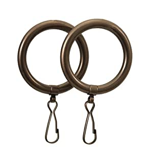 Gatco 831 Shower Curtain Ring, Oil Rubbed Bronze