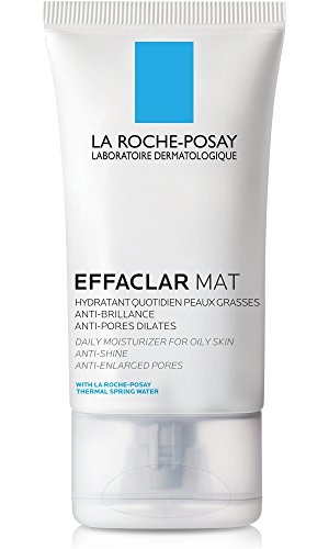 La Roche-Posay Effaclar Mat Face Moisturizer for Oily Skin, 1.35 Fl. Oz. (Best Cleanser Toner And Moisturiser)