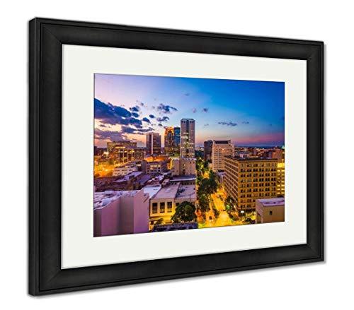 (Ashley Framed Prints Birmingham, Alabama, USA, Wall Art Home Decoration, Color, 30x35 (Frame Size), Black Frame, AG32675375)