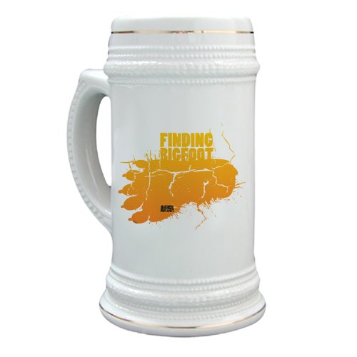 Finding Bigfoot Footprint Stein