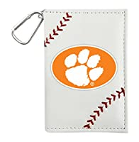 NCAA Clemson Tigers ID Holders, White