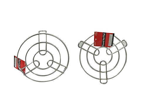 Round Hot Pad Holder, Trivet Size: 8'' Dia , Case of 48 by DollarItemDirect