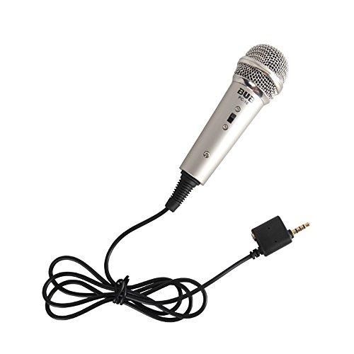 Microphone CEStore Multimedia Condenser Karaoke Grey