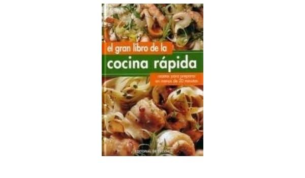 Gran libro de la cocina rapida, el Cocina de Vecchi: Amazon ...