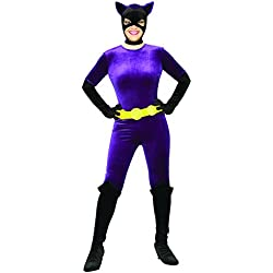 Rubie's Costume Co Women's Batman DC Style Guide Gotham Girls Catwoman, Purple, X-Small