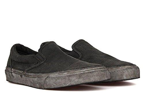 Vans Classic Slip-on (overwash) Negro Vn0004ouiti 5