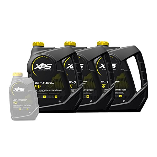 Ski-Doo Can-Am Sea-Doo XPS New OEM 2-Stroke Synthetic Oil Gallon Case, 779127