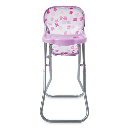 Manhattan Toy Baby Stella Blissful Blooms High Chair First Baby Doll Play Set for 12