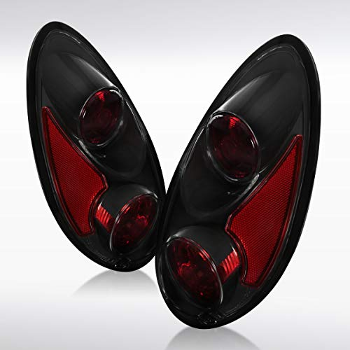 - Autozensation For Chrysler PT Cruiser Black Reverse Tail Lights Rear Brake Lamps Left+Right
