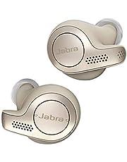 Jabra Elite 65t Écouteurs Bluetooth 5.0 True Wireless avec le service vocal Amazon Alexa intégré - Beige Doré
