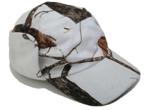 Wildfowler Outfitter Camo Hunting  Water Proof Cap, Wild Tree Snow, X-Large (Camo Predator Hat)