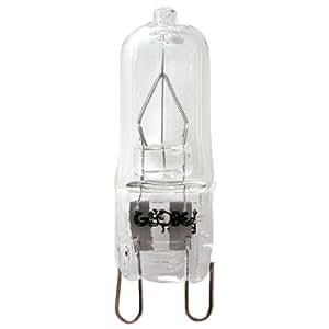 Globe Electric 00096 25-watt T4 JCD with Halogen G9 Base Light Bulb, Clear