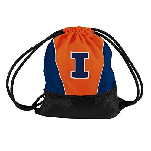 Logo Brands 151-64S NCAA Illinois Illini Sprint Pack, Small, Orange ()