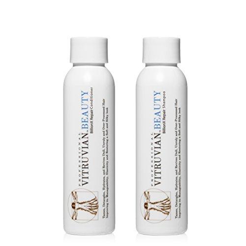 Vitruvian Beauty Organic Moroccan Argan Oil Shampoo/