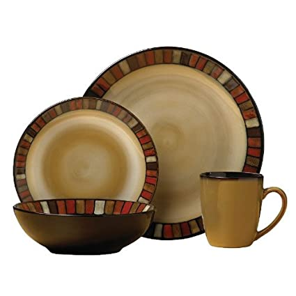SONOMA life + style Vallejo 16-pc. Dinnerware Set  sc 1 st  Amazon.com & Amazon.com | SONOMA life + style Vallejo 16-pc. Dinnerware Set ...