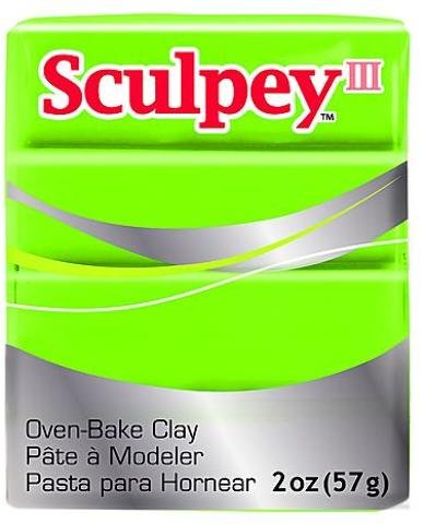 Sculpey Modeling Compound III (Granny Smith)