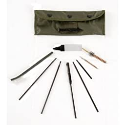 Ultimate Arms Gear .223 5.56 AR15 AR-15 AR 15 M4 M16 Deluxe Rifle Cleaning Kit + Gun Care Silicone Lubricated Cleaning Cloth