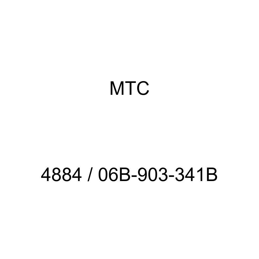 MTC 4884/06b-903 - 341B accesorios cinturón correa de distribución polea (06b-903 - 341B MTC 4884 para Audi/Volkswagen modelos): Amazon.es: Coche y moto