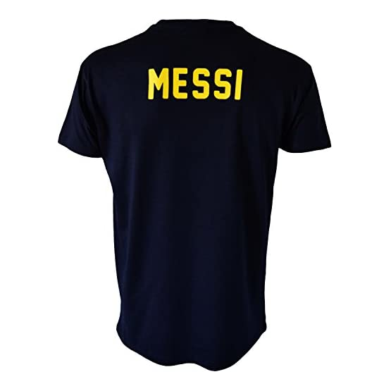 Fc Barcelone T-Shirt Barça - Lionel Messi - Collection Officielle Taille Adulte Homme