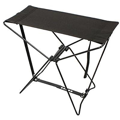 Rothco Folding Camp Stool, Black : Pocket Chair : Sports & Outdoors