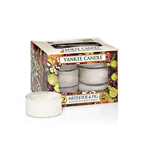 (Yankee Candle Mistletoe & Fig Tea Lights Box of)