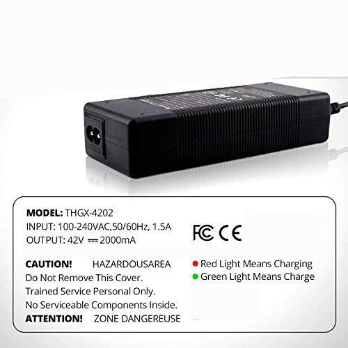 SmallRun- Cargador de batería Patinete Compatible Xiaomi M365 ...