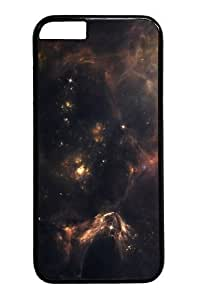 Outer Space Nebulae Custom For SamSung Galaxy S6 Case Cover Polycarbonate Black