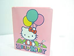 Hello Kitty 3-ring Binder