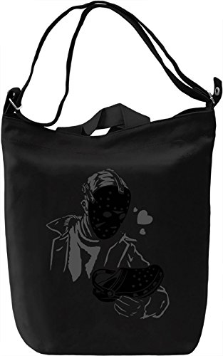 Jason Loves Crocs Borsa Giornaliera Canvas Canvas Day Bag| 100% Premium Cotton Canvas| DTG Printing|