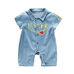 Fashion Jeans Romper For Unisex