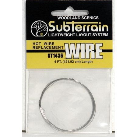Woodland Scenics Hot Wire Replacement Wire 4' WOOST1436