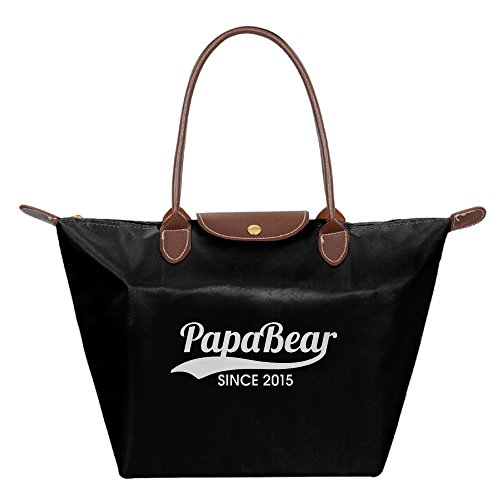 Popular Papa Bear Since 2015 Folding Dumplings Bag
