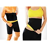 Diswa Hot Shapers Melt N Slim Belt Tummy Trimmer Neotex(Size :-L)