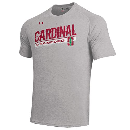 Under Armour Men's  NCAA Short Sleeve Tech Tee -  Stanford Cardinal - Large