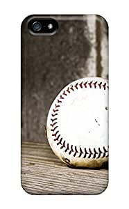 Durable Case For The Iphone 5/5s- Eco-friendly Retail Packaging(baseball)