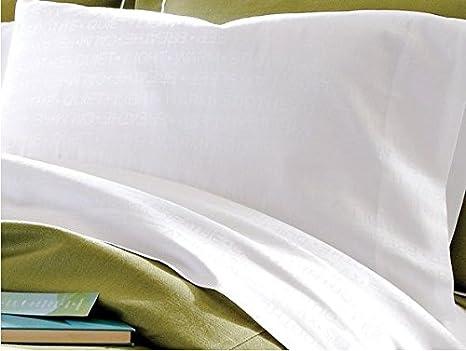 GT 2 Color Blanco 20 x 30 T180 Thomaston Mills Funda de Almohada tamaño estándar Hotel Grado: Amazon.es: Hogar