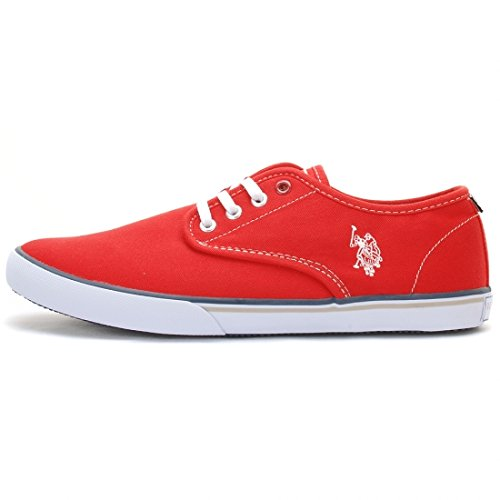 US POLO - Fashion / Mode - Ox Canvas Rouge - Rouge