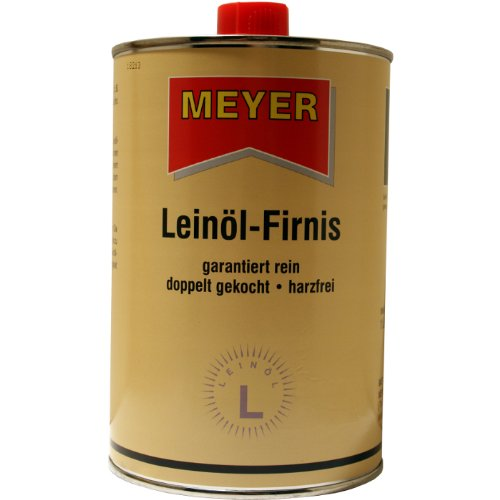 Linseed Oil Boiled Linseed Oil Varnish 1Litre (Price Per Litre: 6,90Euro) Meyer-Chemie