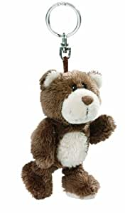 Nici 32830 - Llavero de oso de peluche (10 cm)