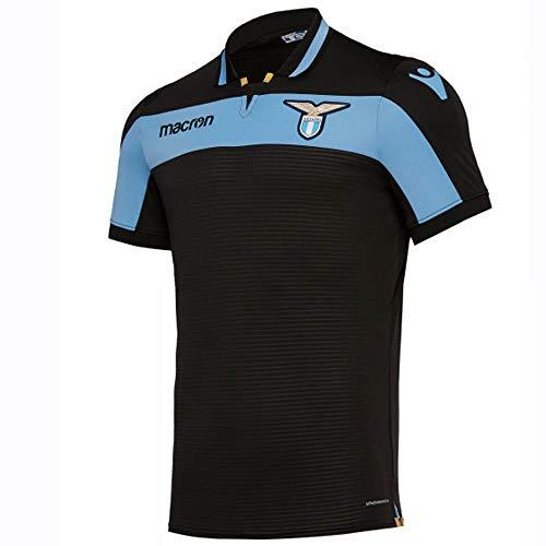 Lazio Soccer Team - Macron 2018-2019 Lazio Authentic Third Match Football Soccer T-Shirt Jersey