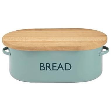 Typhoon Summer House Blue Bread Box