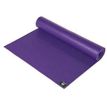 Lotus Design PREMIUM - Esterilla de yoga, 200 x 60 cm morado ...