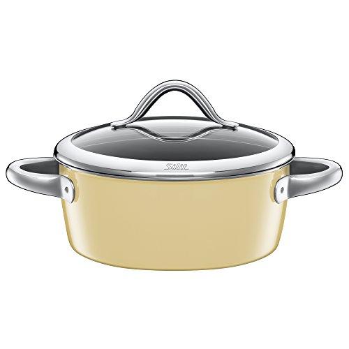 Vitaliano low casserole 22cm vanilla S0222187511 by Silit (Shiritto)