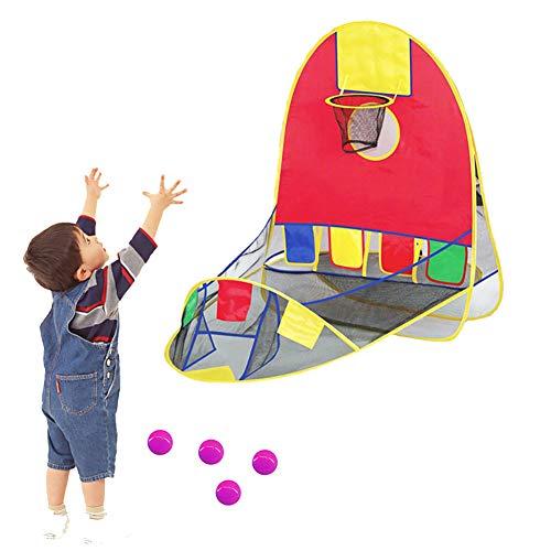 Cartoon Beach Ball - Asdf586io Children Kids Play Basket Tent